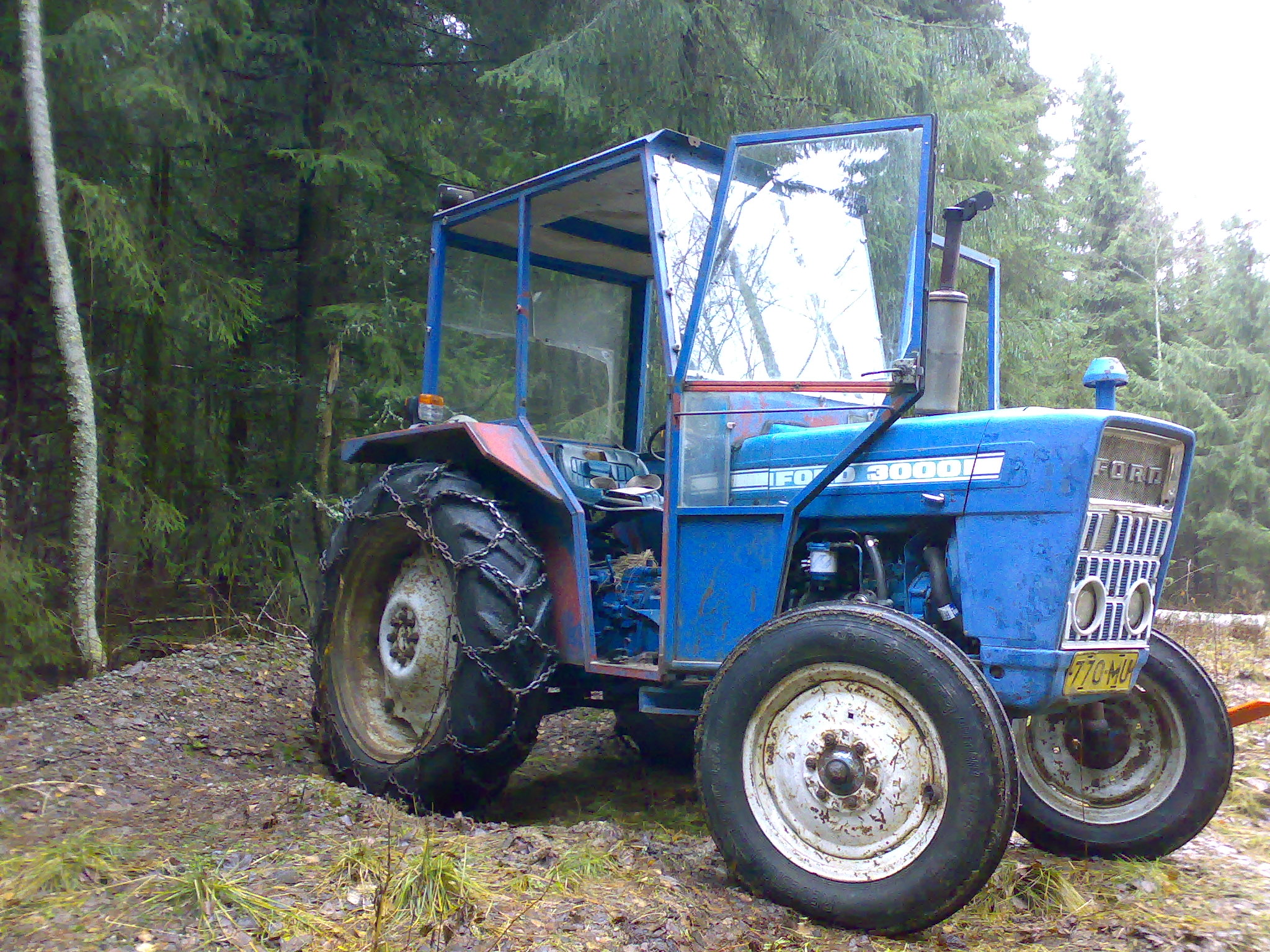 how to tell the models of ford 5000 tractors