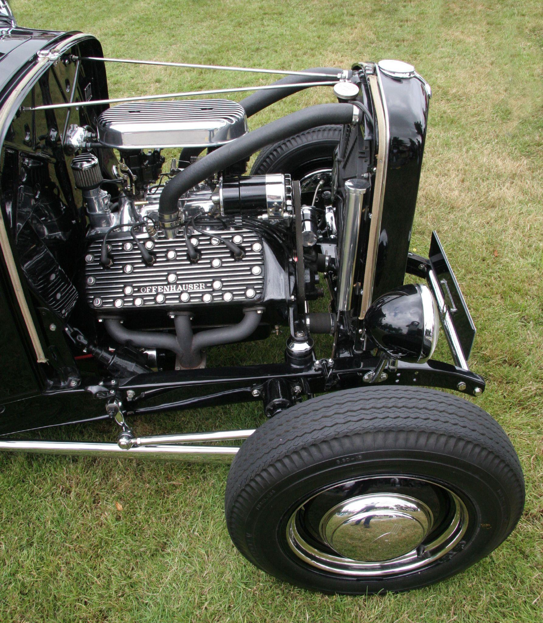 1932 Ford Model B Engine