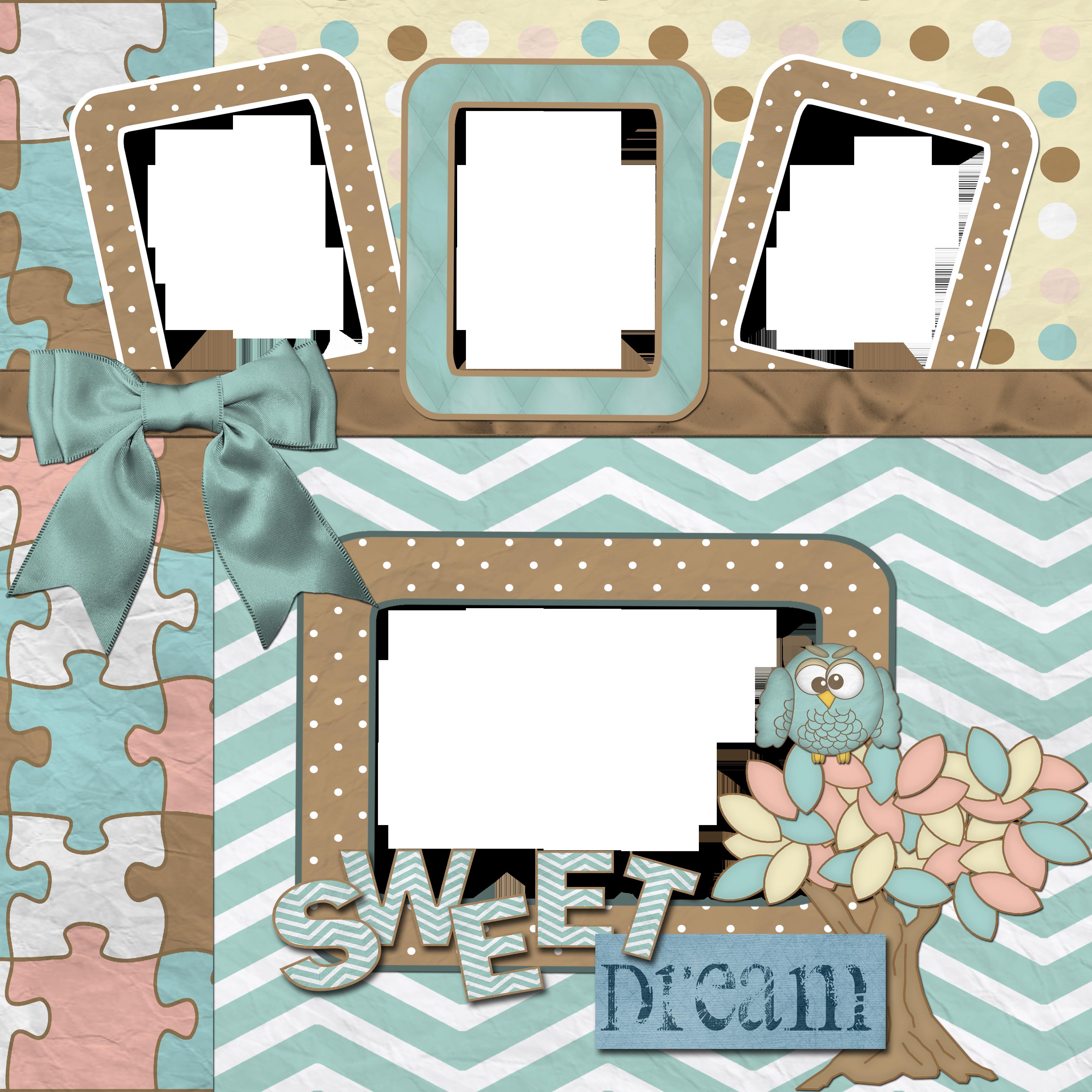 Granny Enchanteds Blog Free Baby Digital Scrapbook Quick Page