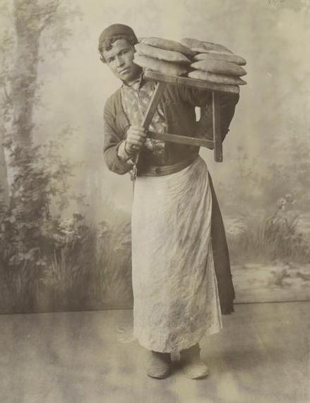 File:Georgian bread seller (A).jpg
