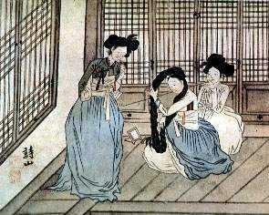 <i>Kisaeng</i> Educated female slave performers in monarchial Korea