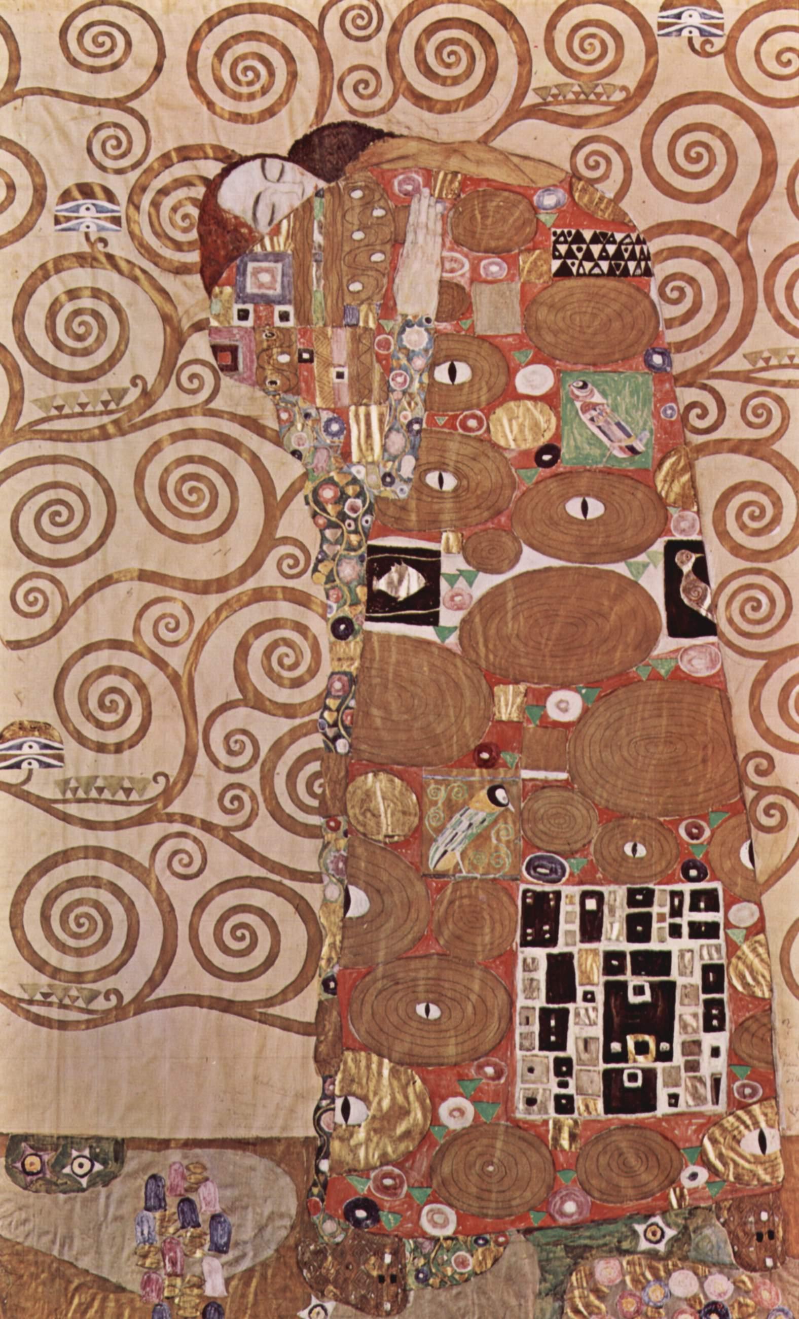 árbol de la vida de Gustav Klimt 3