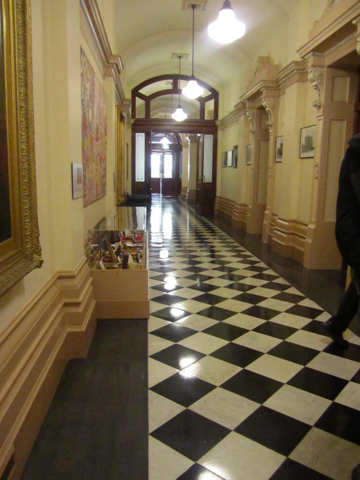 Image Result For Black Floor Tiles