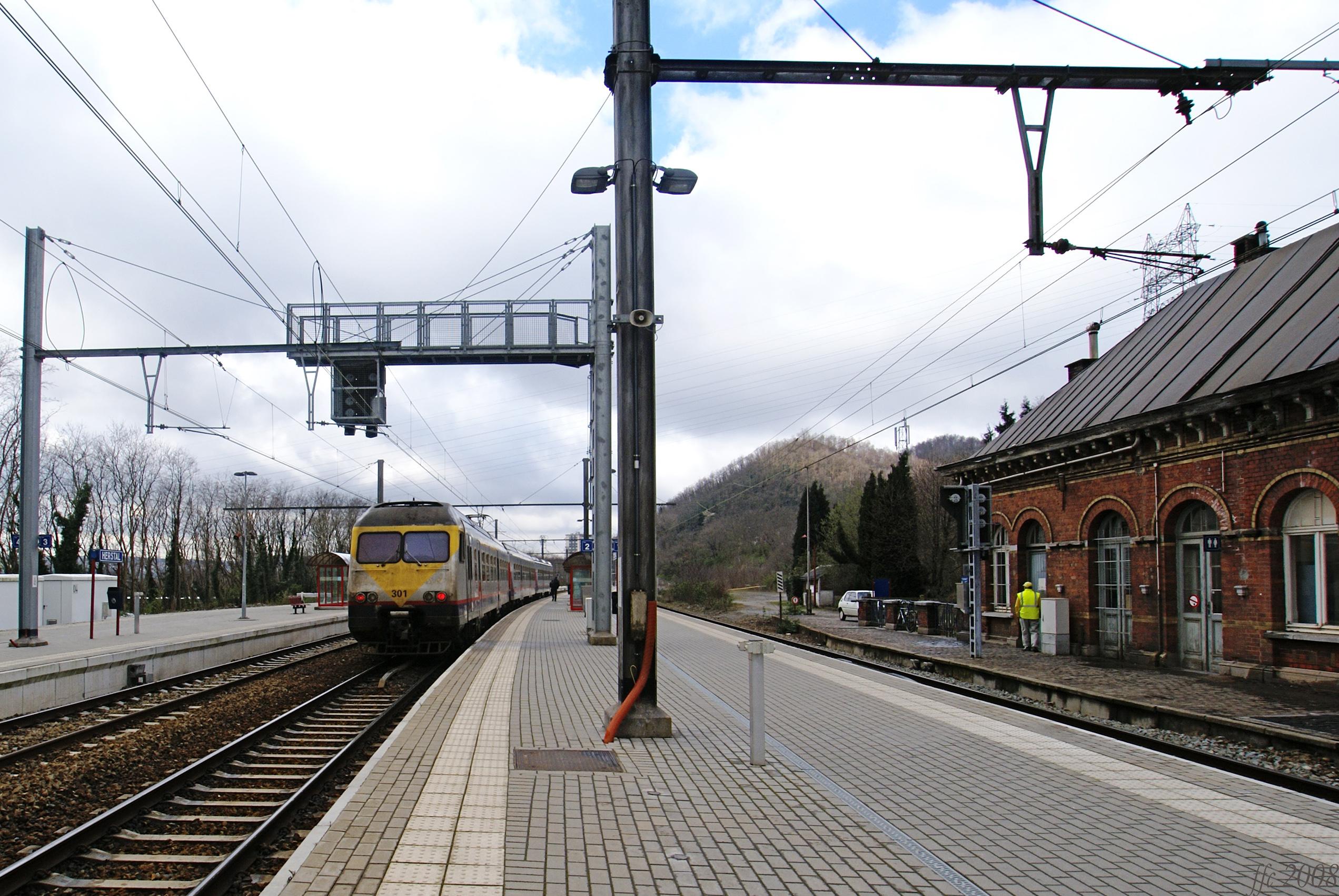 Gare de herstal wikiwand for Garage de la gare bretigny