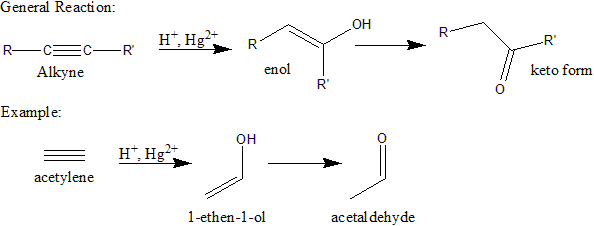 Enol Bonded To Benzene Ring