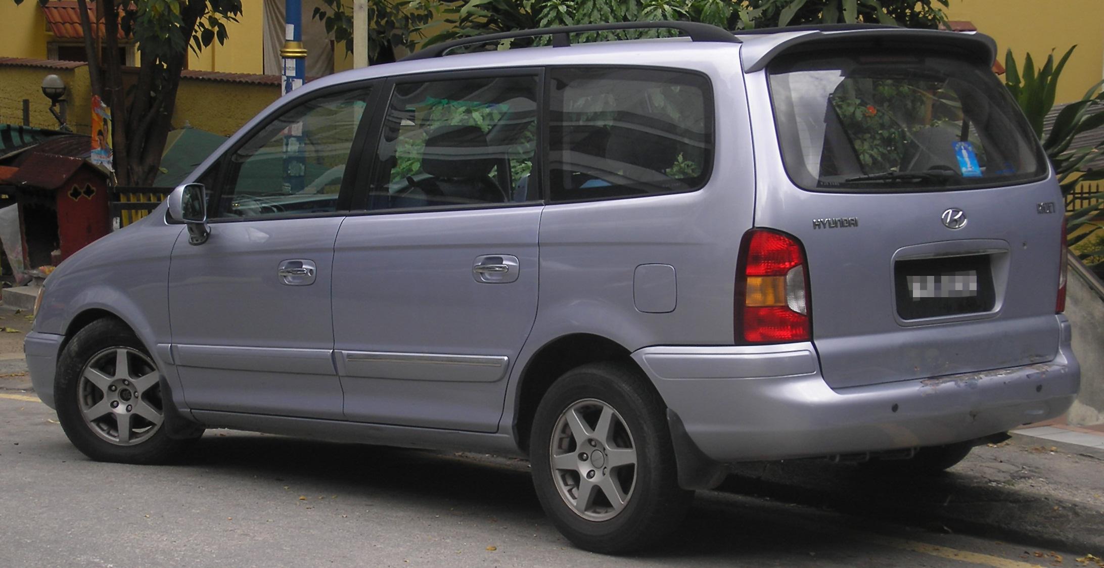 File Hyundai Trajet First Generation Rear Kuala