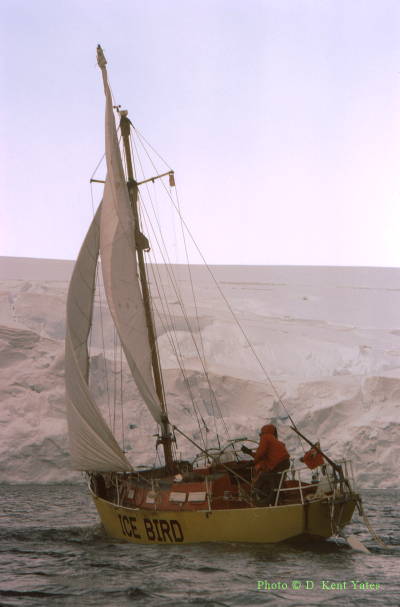 Ice Bird Trials Off Palmer Station 1973