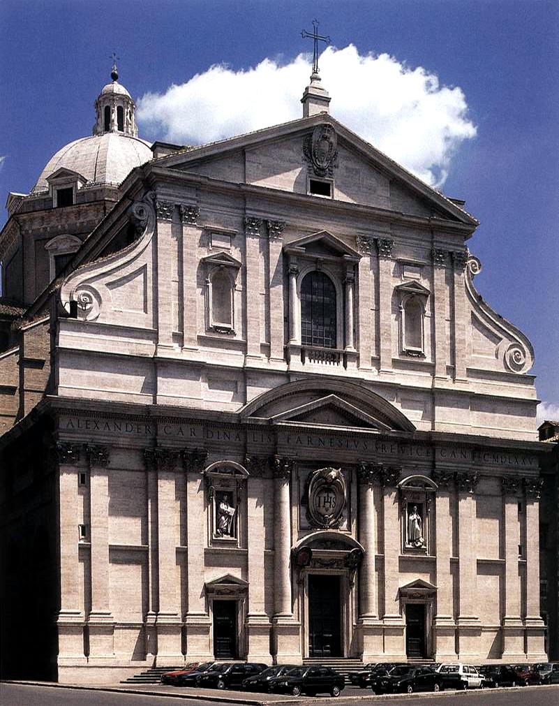Kostel Il Gesu v Říme