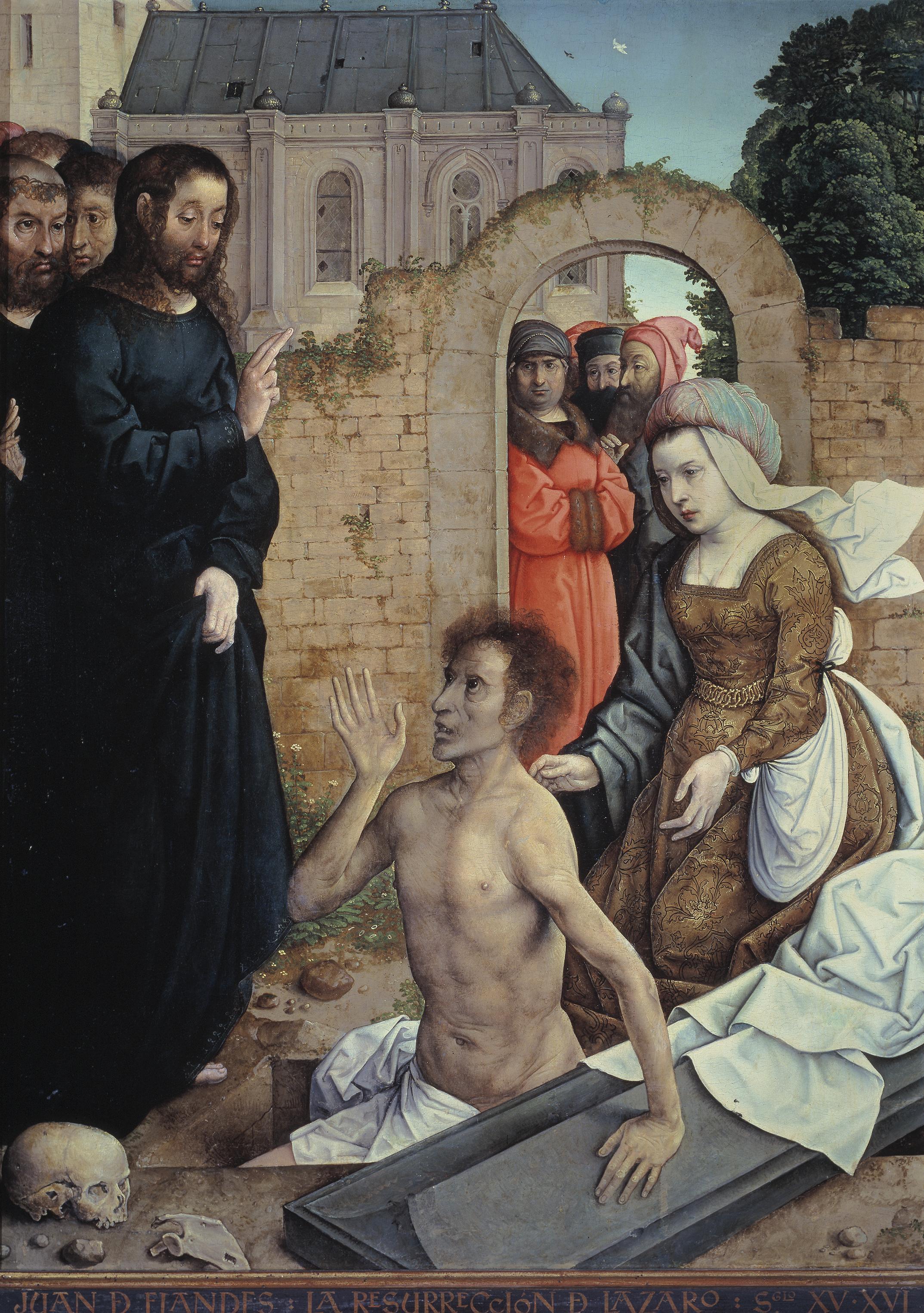 Juan_de_Flandes_001 Jésus dans Communauté spirituelle