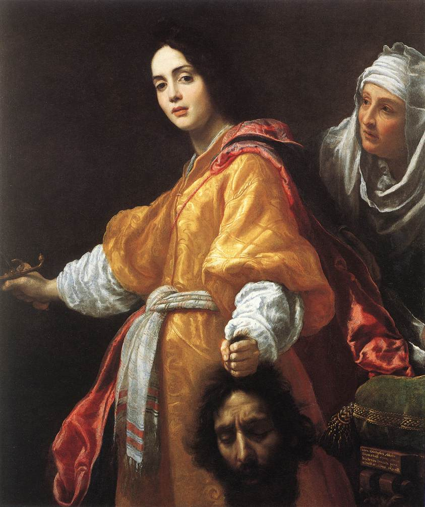 File:Judith with the Head of Holofernes (1613); Cristofano ...