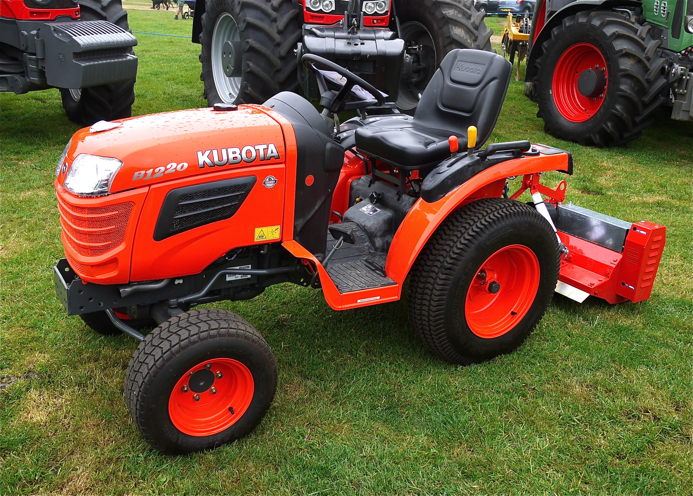 Small Garden Tractors : File kubota small tractor flickr mick lumix g