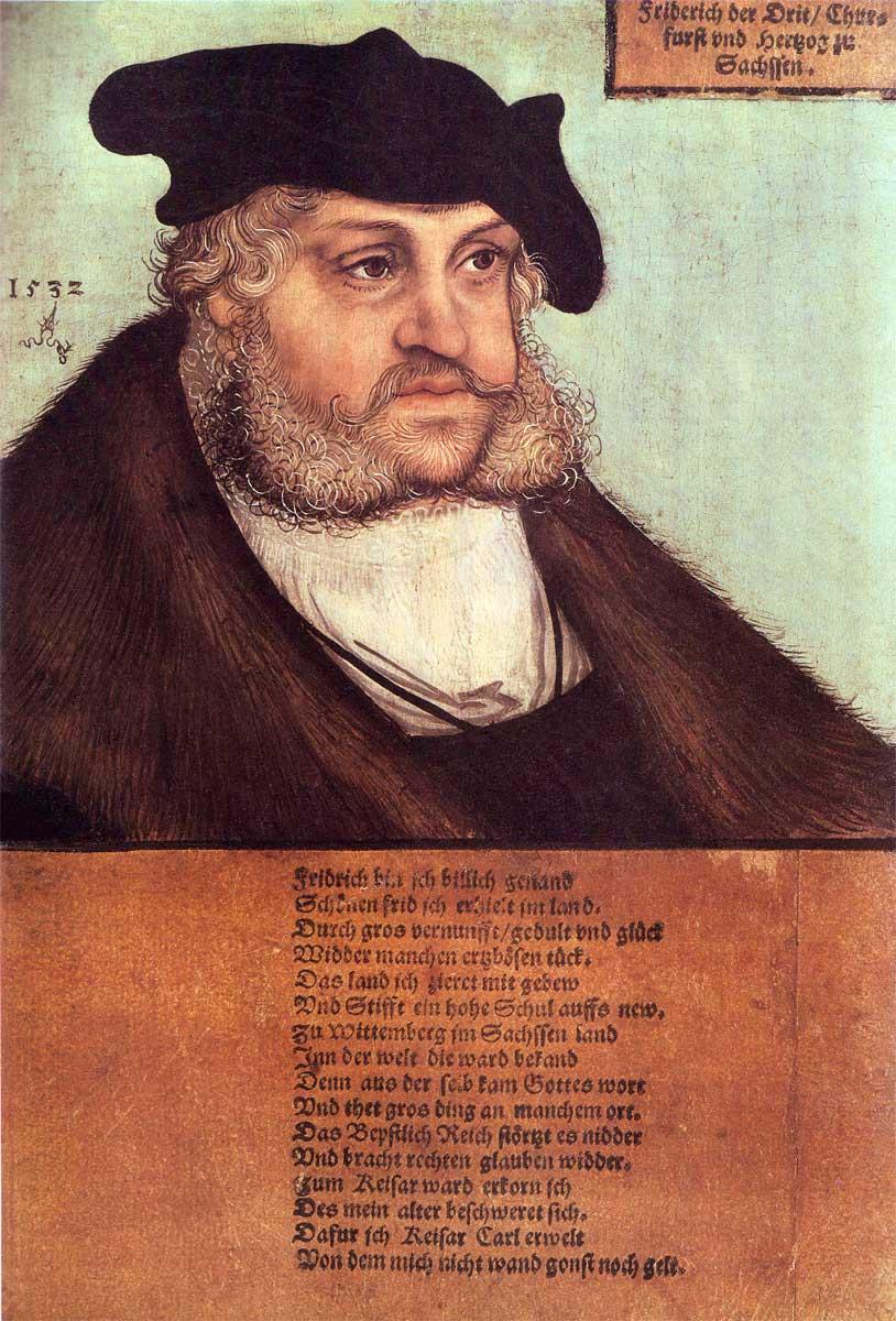 Frederik III de Wijze, keurvorst van Sachsen