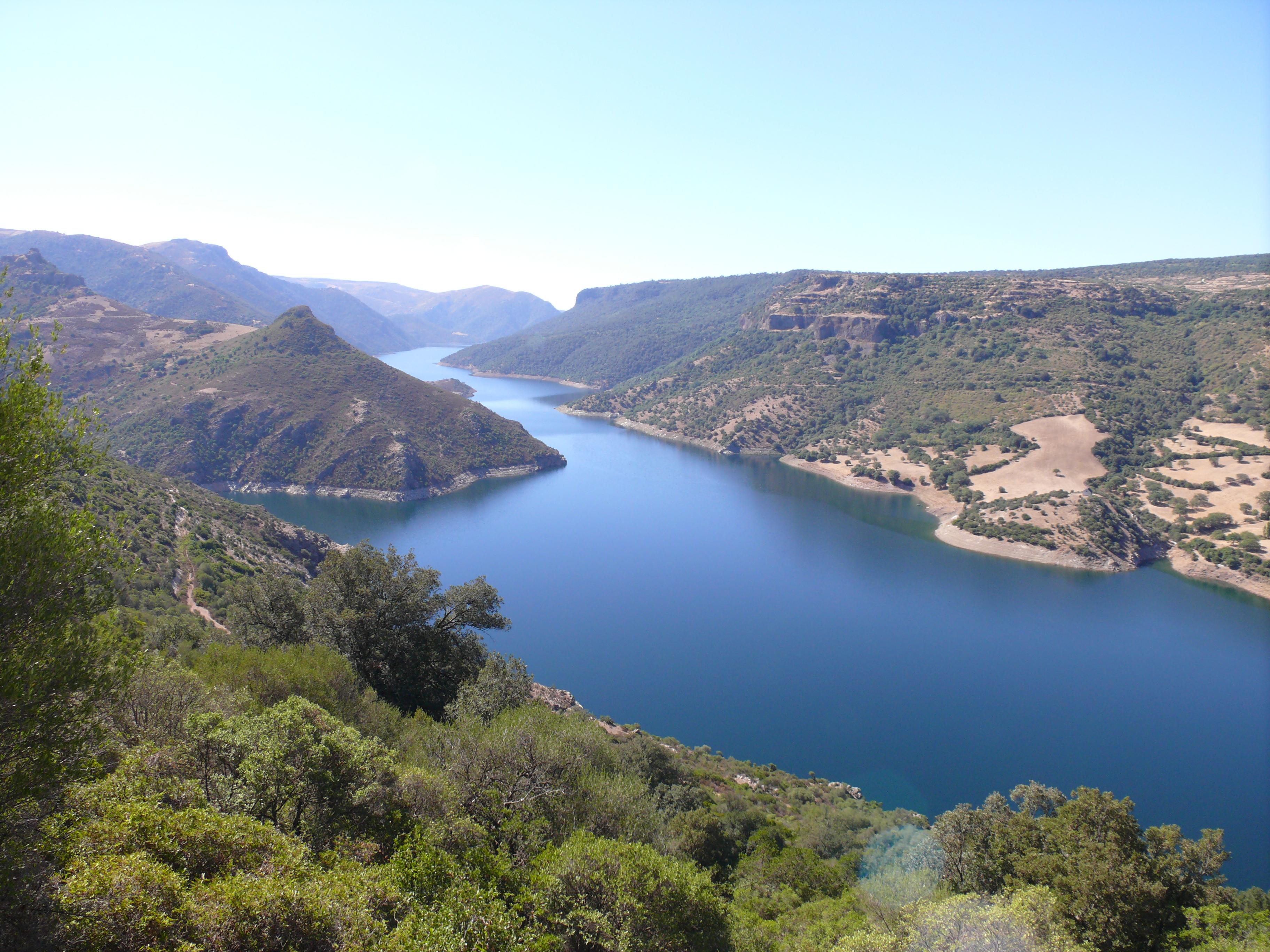 Cartina Sardegna Nurri.Flumendosa Wikipedia