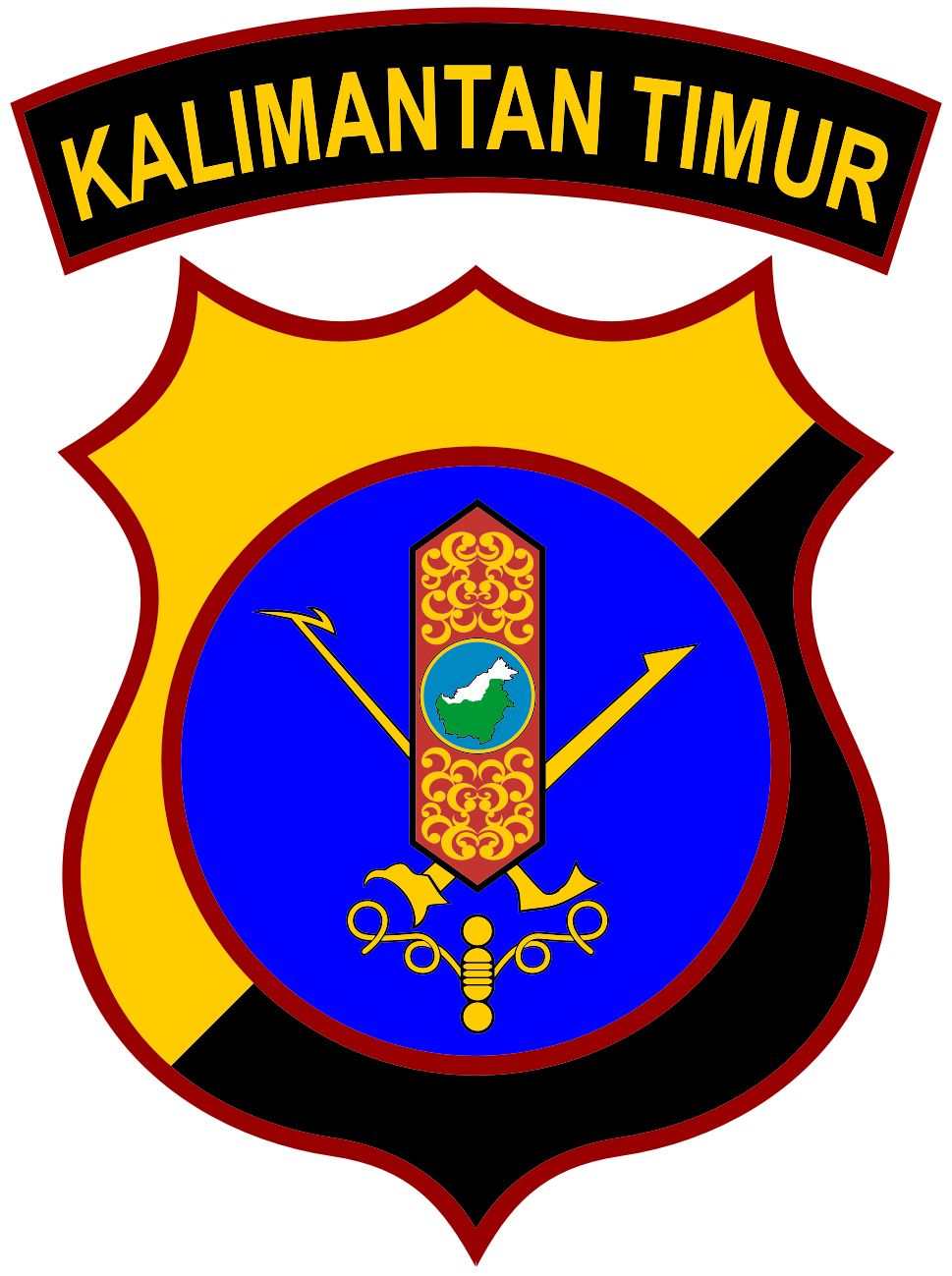 Kepolisian Daerah Kalimantan Timur - Wikipedia bahasa