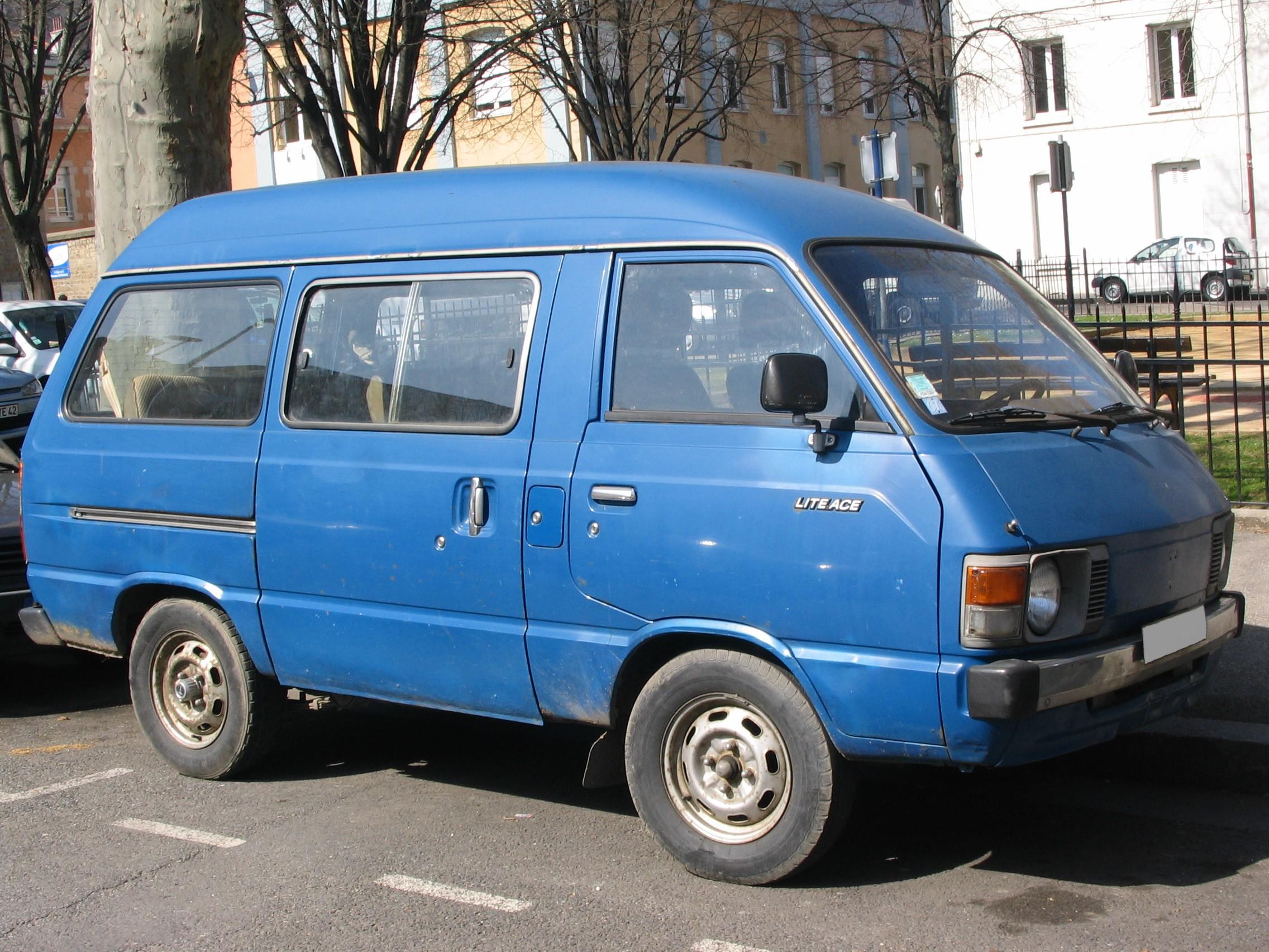 2001 Toyota Liteace Noah Used Car For Sale Japan Stock Car