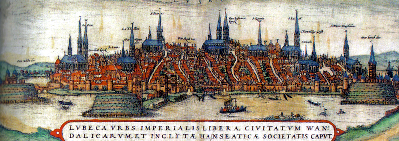 Lübeck, 15th century.