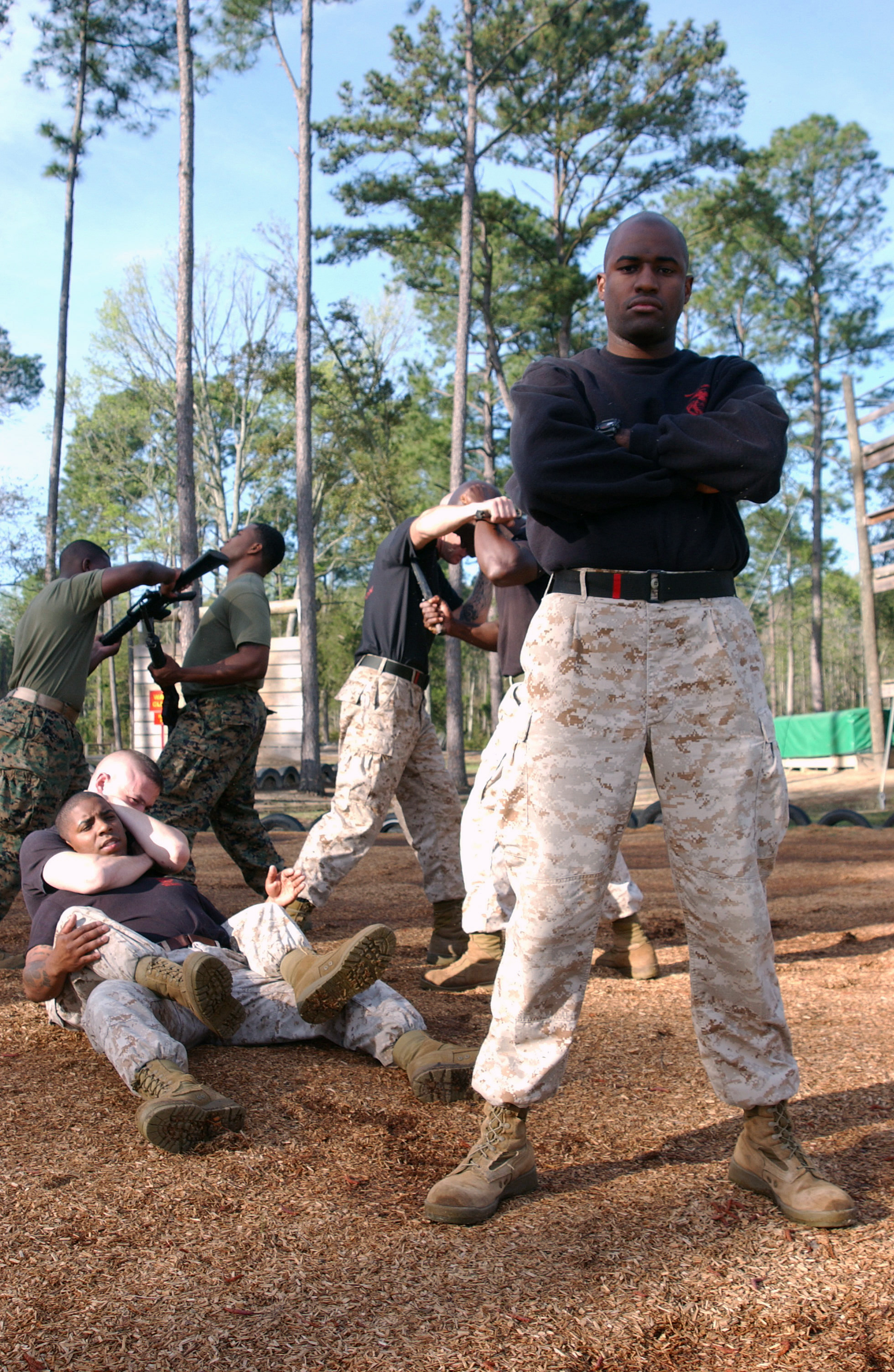 File:MCMAP techniques - Defense Visual Information Center ...