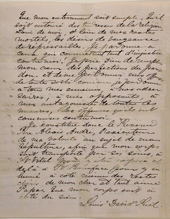 louis riel essay letters written by louis riel
