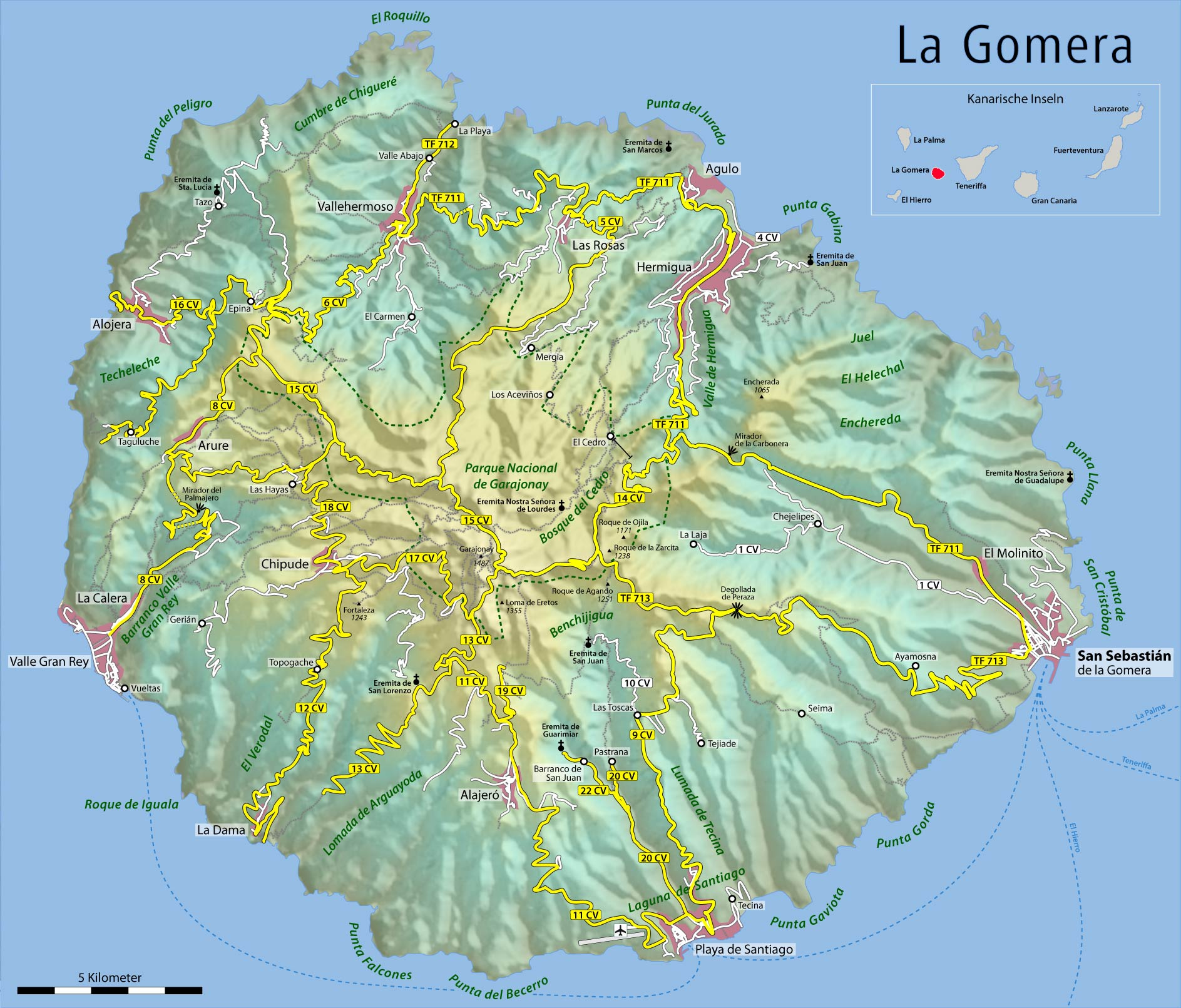 la gomera karte Datei:Map of La Gomera. – Wikipedia