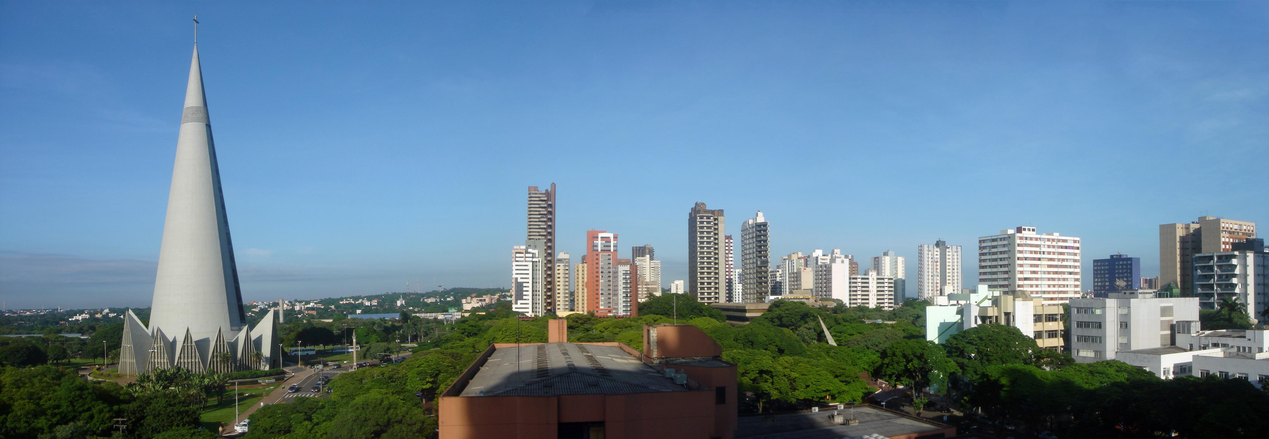 Armarios Sin Puertas Baratos ~ File Maringá Panorama jpg Wikimedia Commons