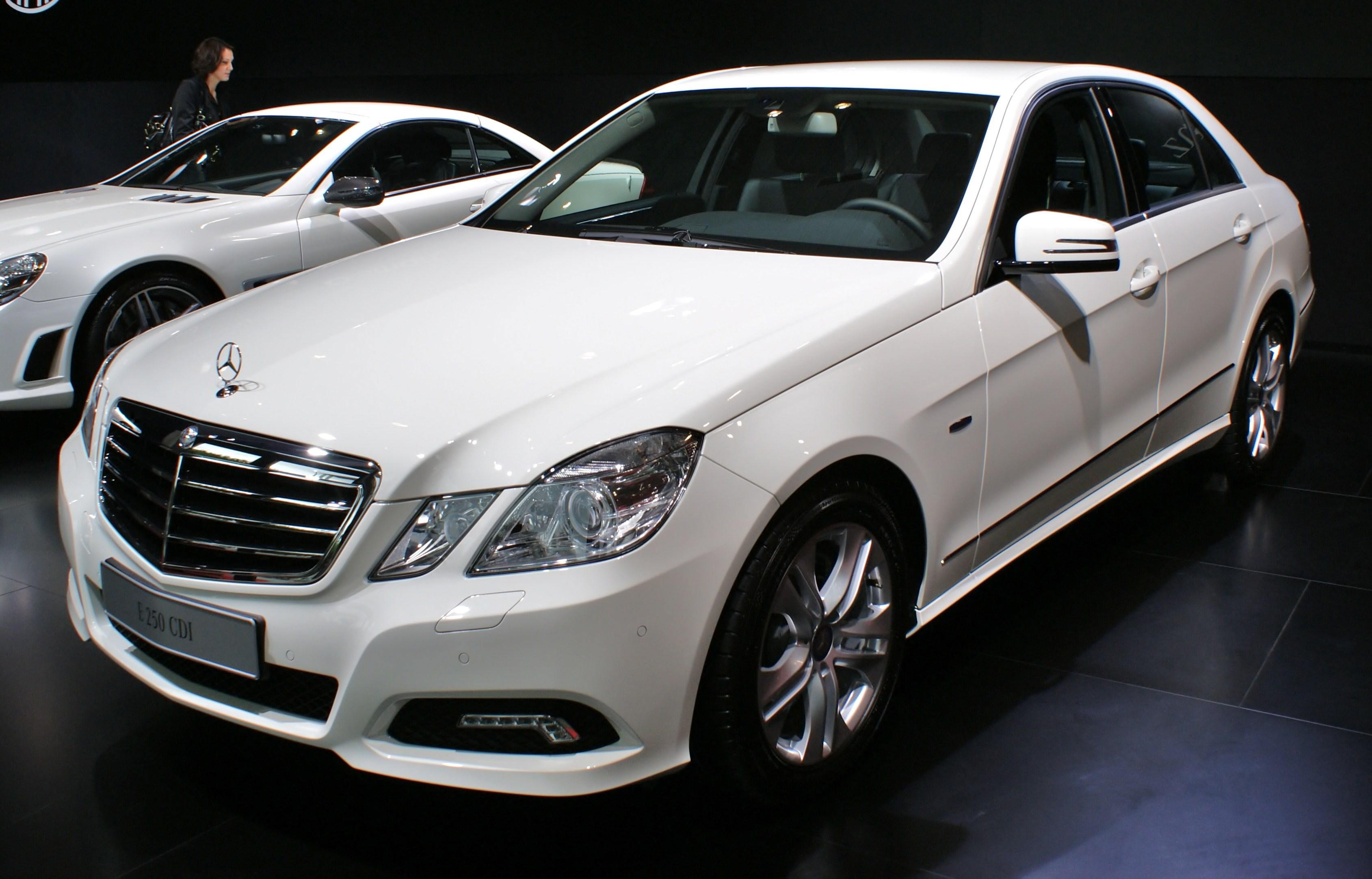 Mercedes E  Cdi Hubraum