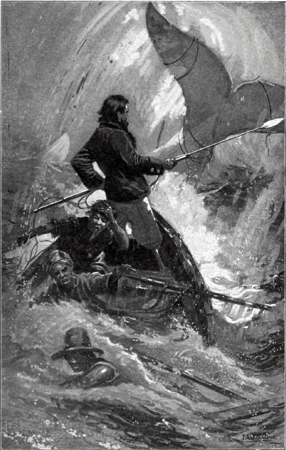 Final chase of Moby-Dick