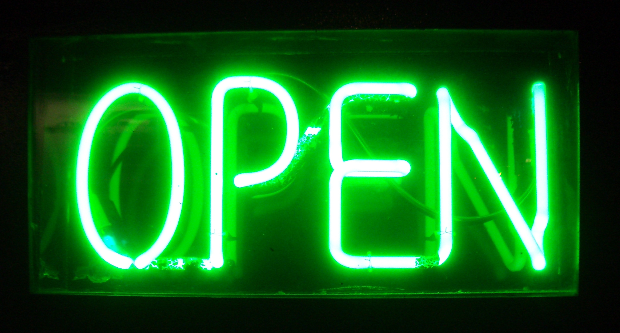 Neon Open green xs2.me   Like Reality TV for Tech Entrepreneurs