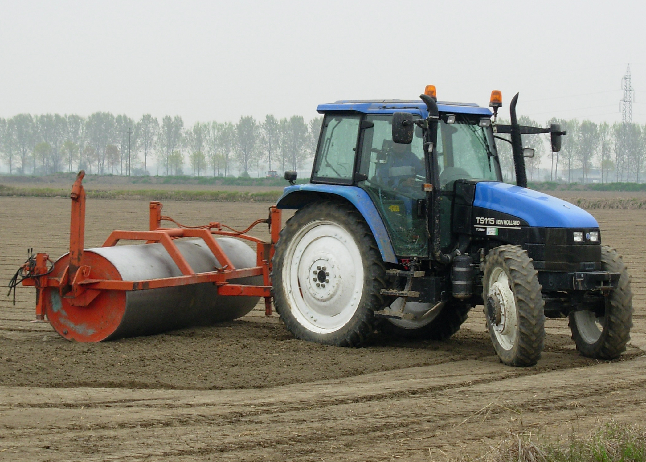 Description new holland ts115
