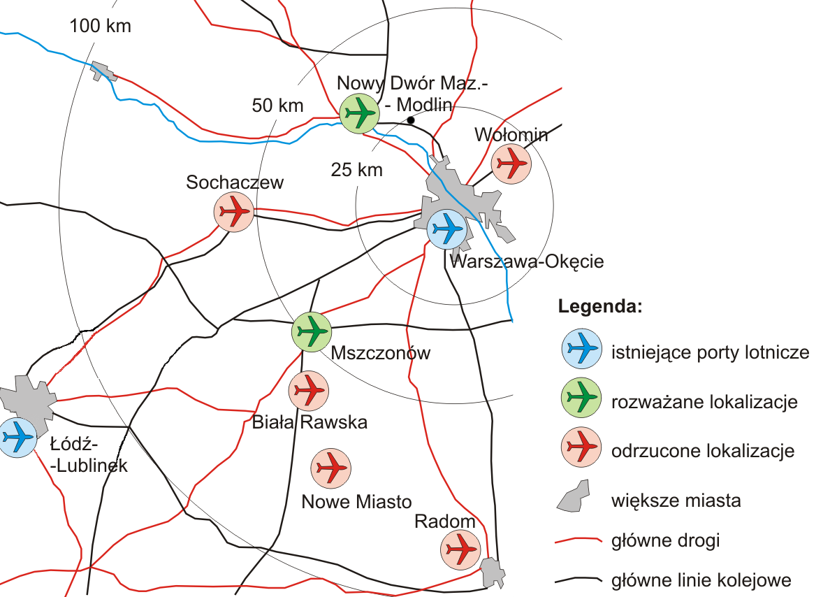 File New Warsaw Airport Proposals Png Wikimedia Commons