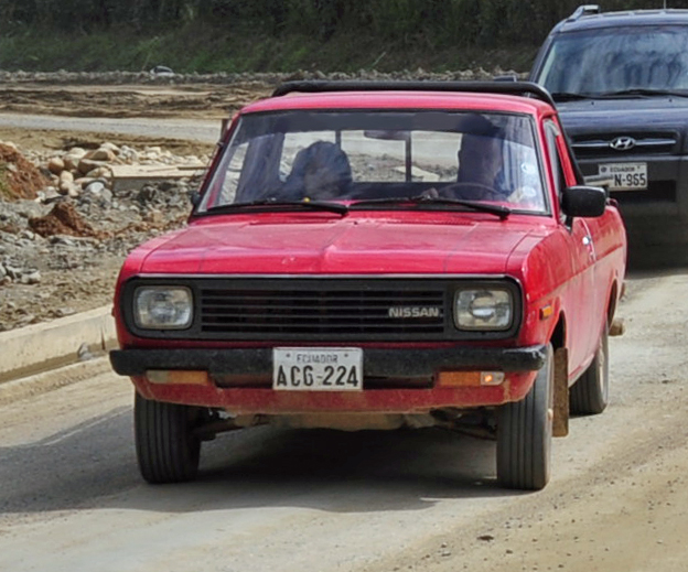 File Nissan 1200 Pickup Ecuador Jpg Wikimedia Commons