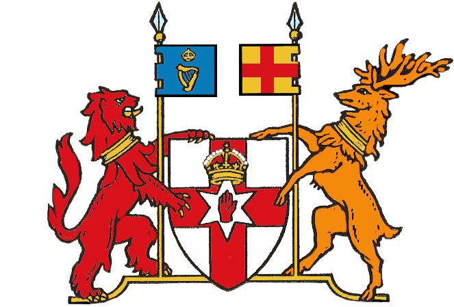 Herb Irlandii Polnocnej Herb Irlandii Północnej Nadał