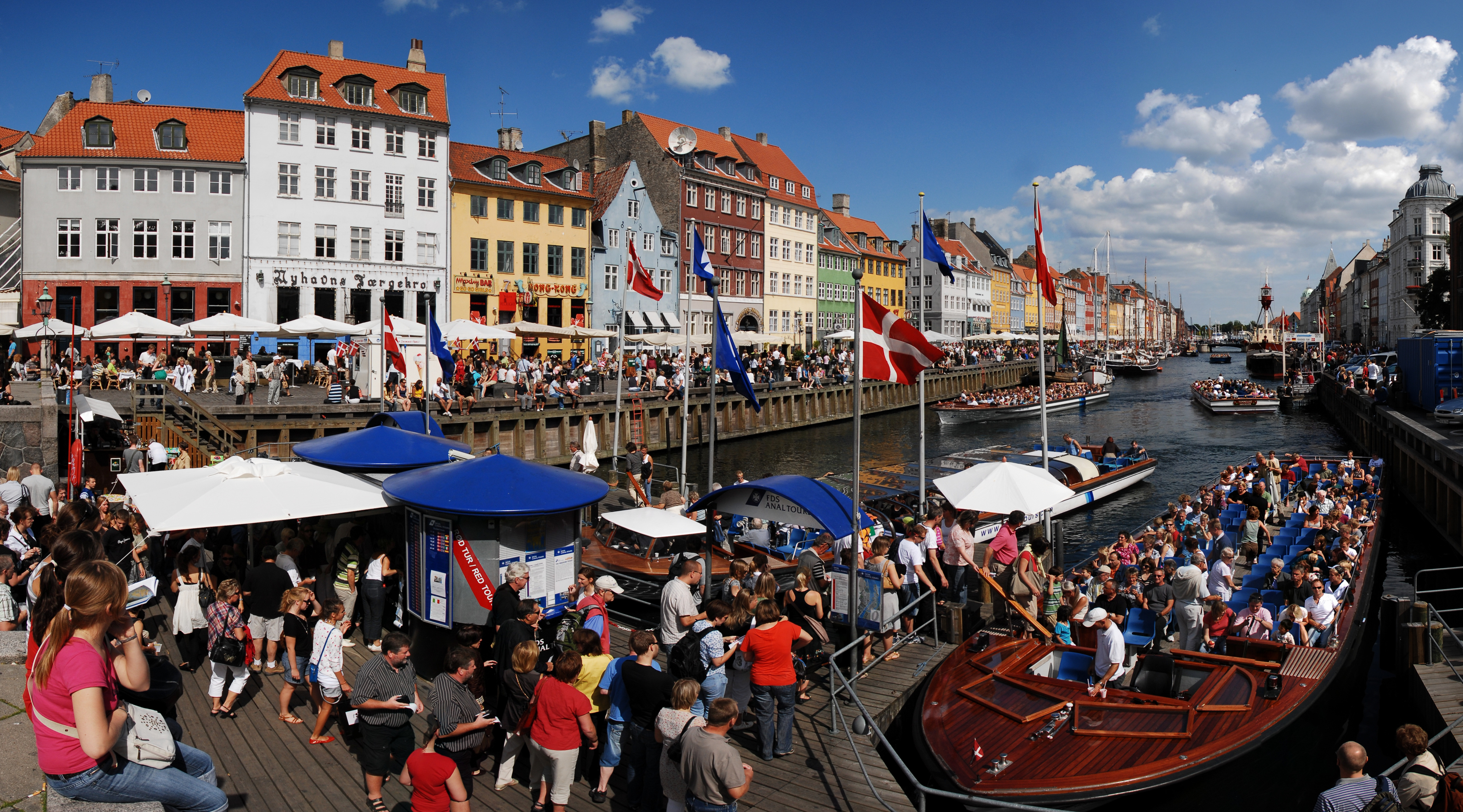 File Nyhavn Canal As Seen From Kongens Nytorv Square