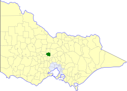 Shire of Metcalfe Local government area in Victoria, Australia
