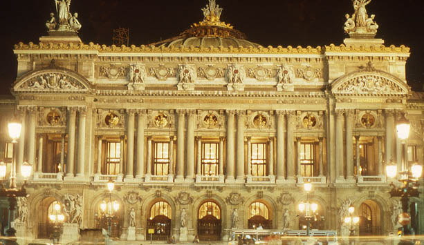 Paris Opera Ballet Tour Schedule