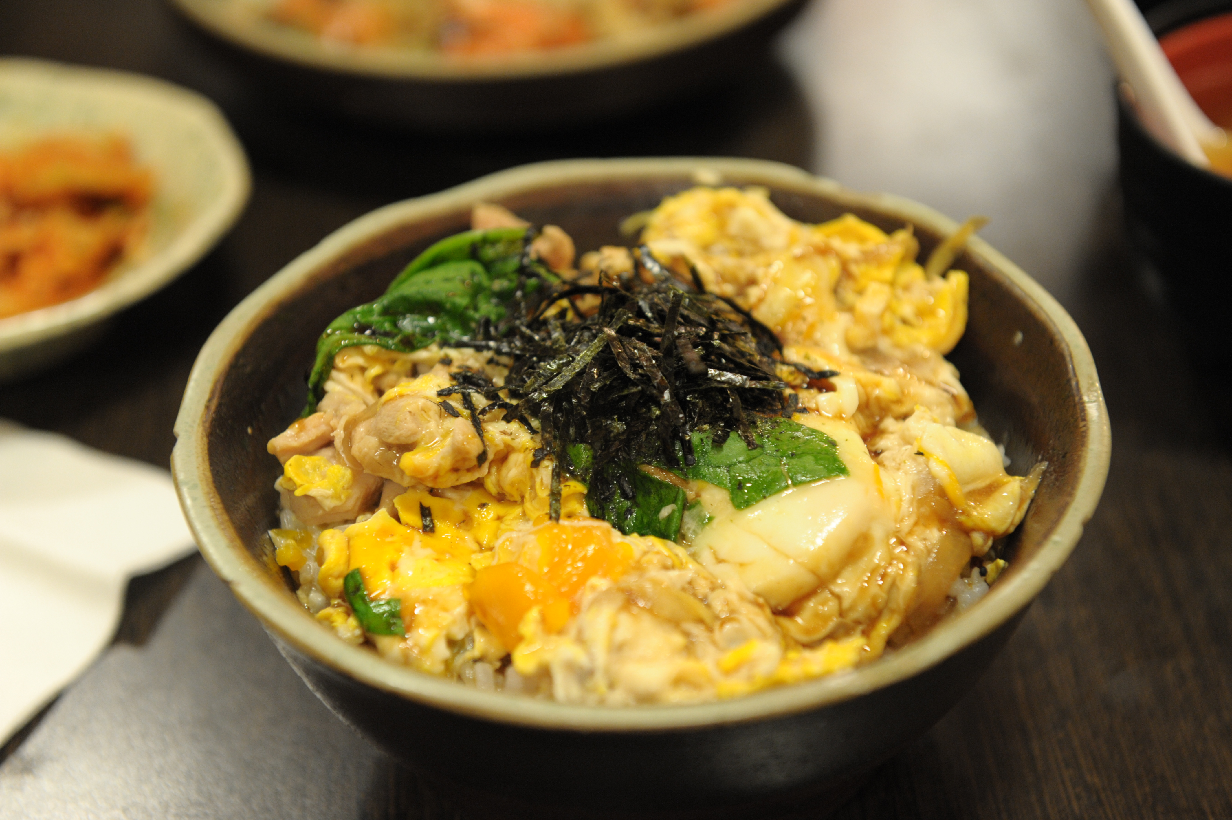Description Oyakodon by aylwin su in Zhongzheng District, Taipei.jpg