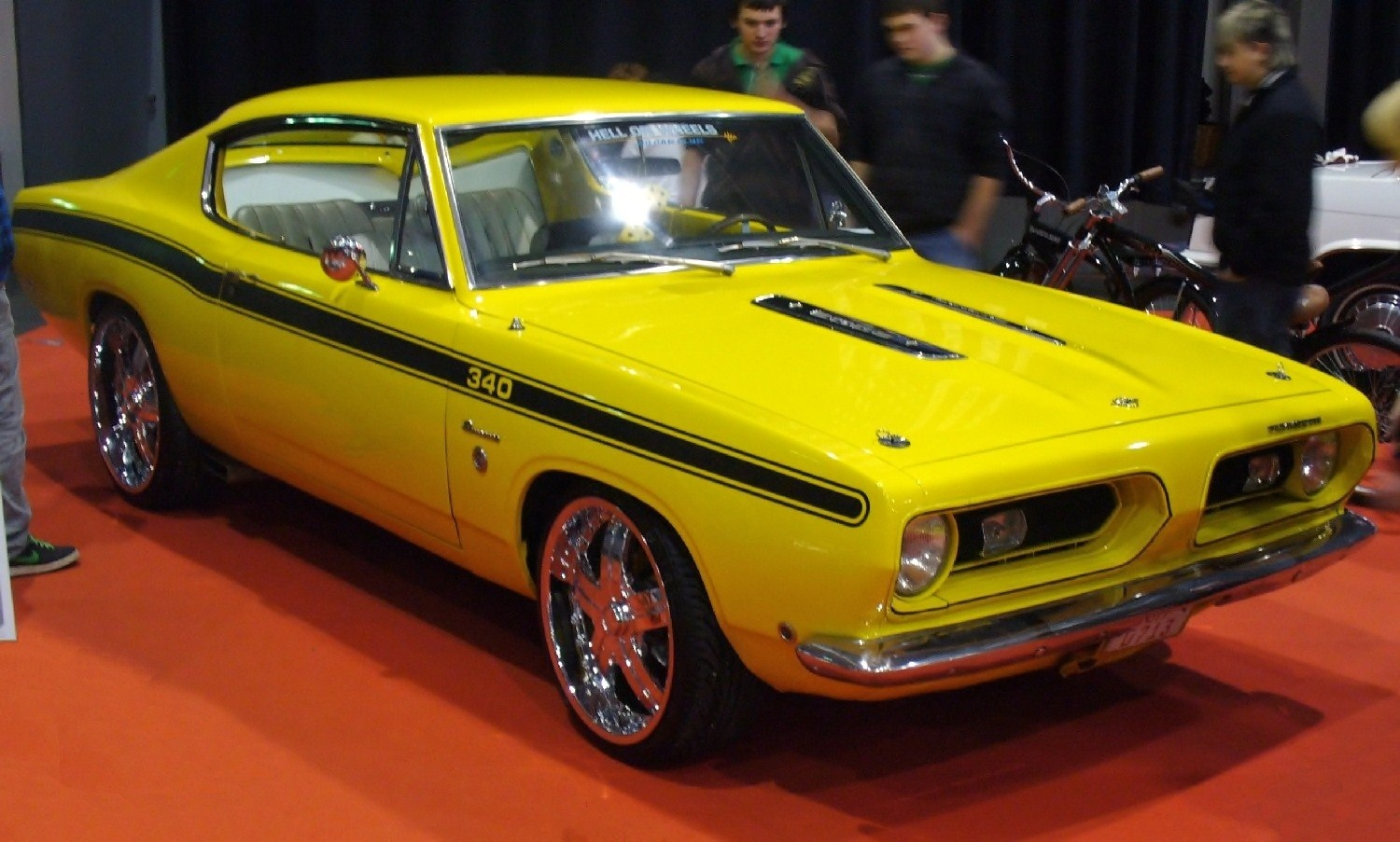 File:Plymouth Barracuda Tuning AME.jpg - Wikimedia Commons