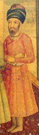 Portrait of Azad Khan Afghan, at the court of Karim Khan.png