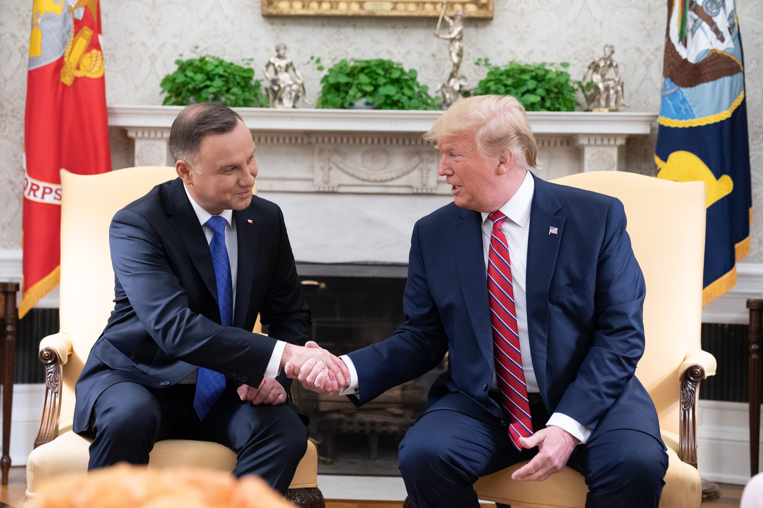 File:President Trump Meets with President Duda of Poland ...