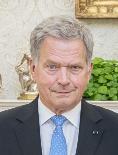Sauli Niinistö 12th president of Finland
