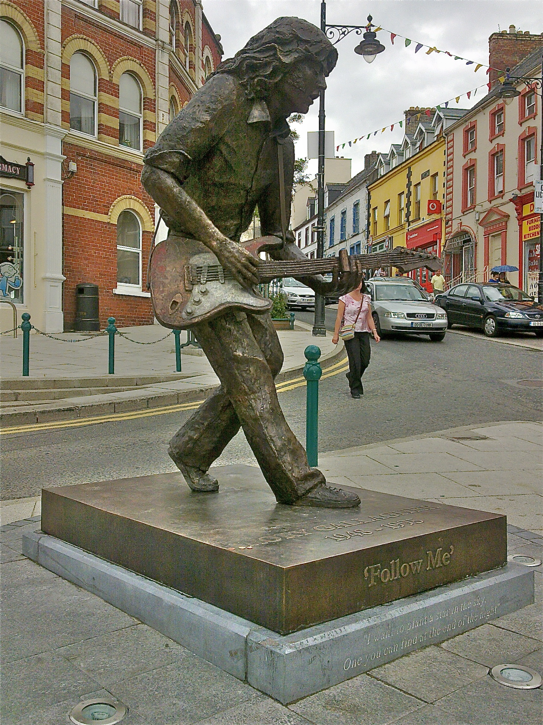 Image result for rory gallagher statue