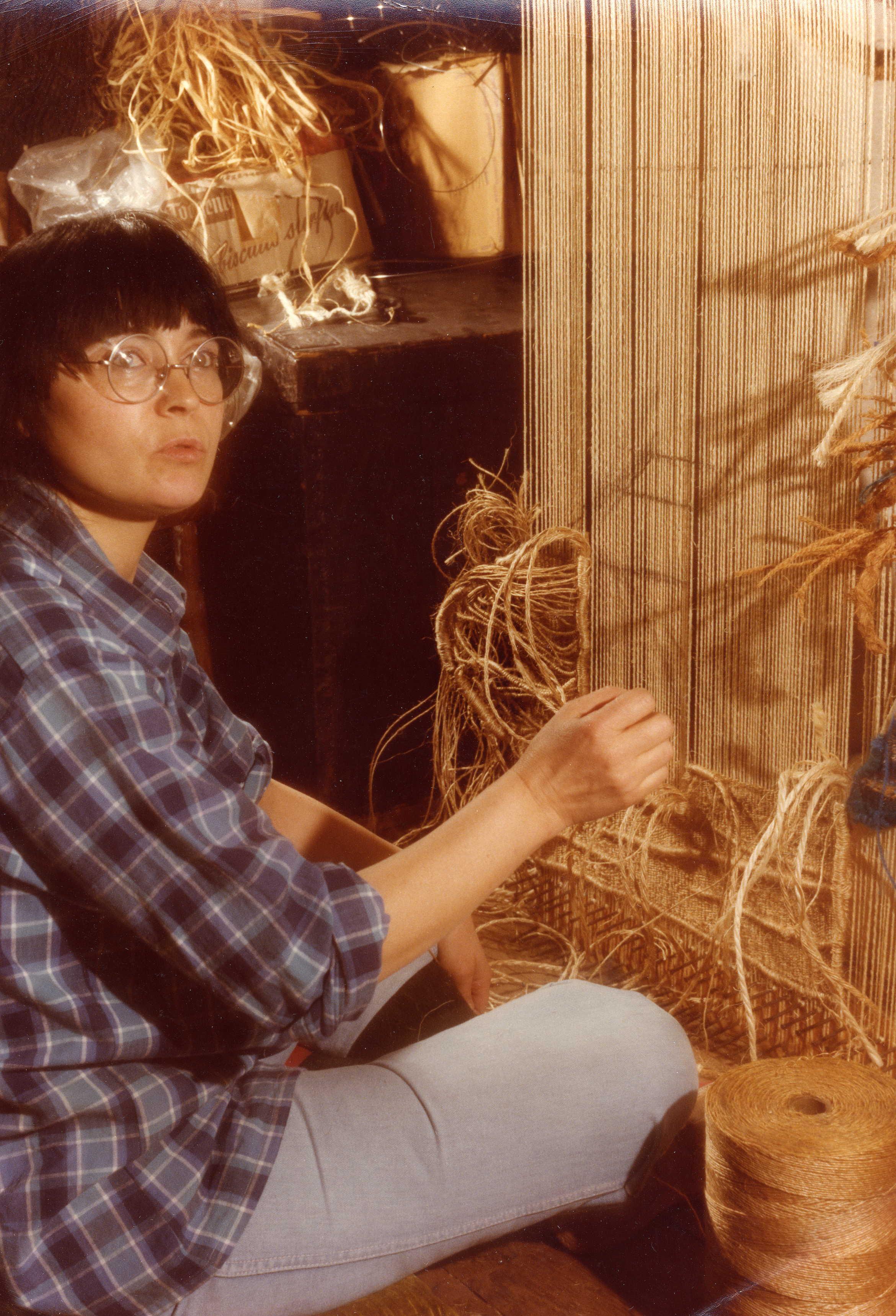 Rosemarie Koczy Working 1978.jpg