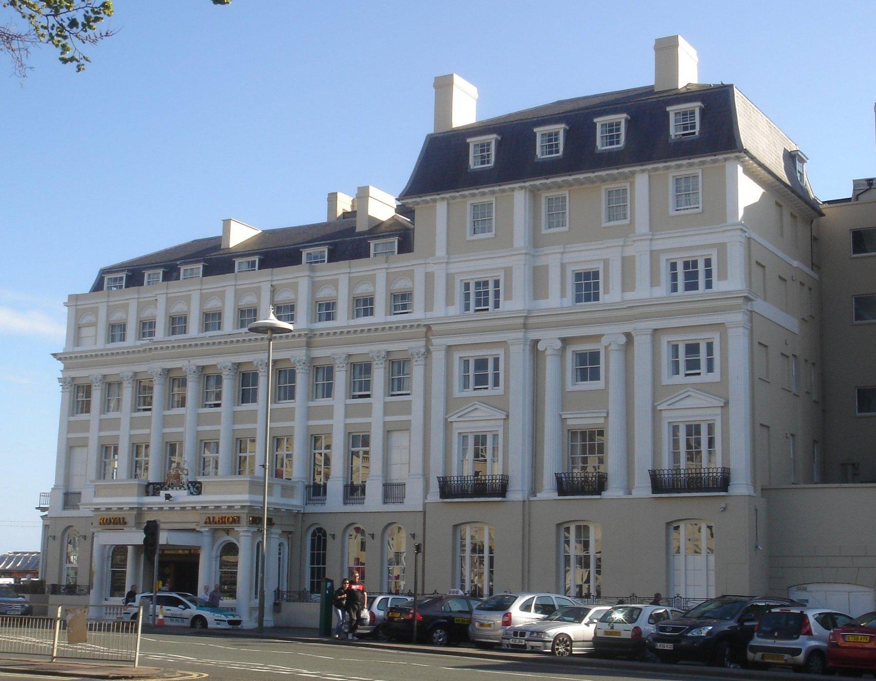 Royal Albion Hotel Brighton Fire