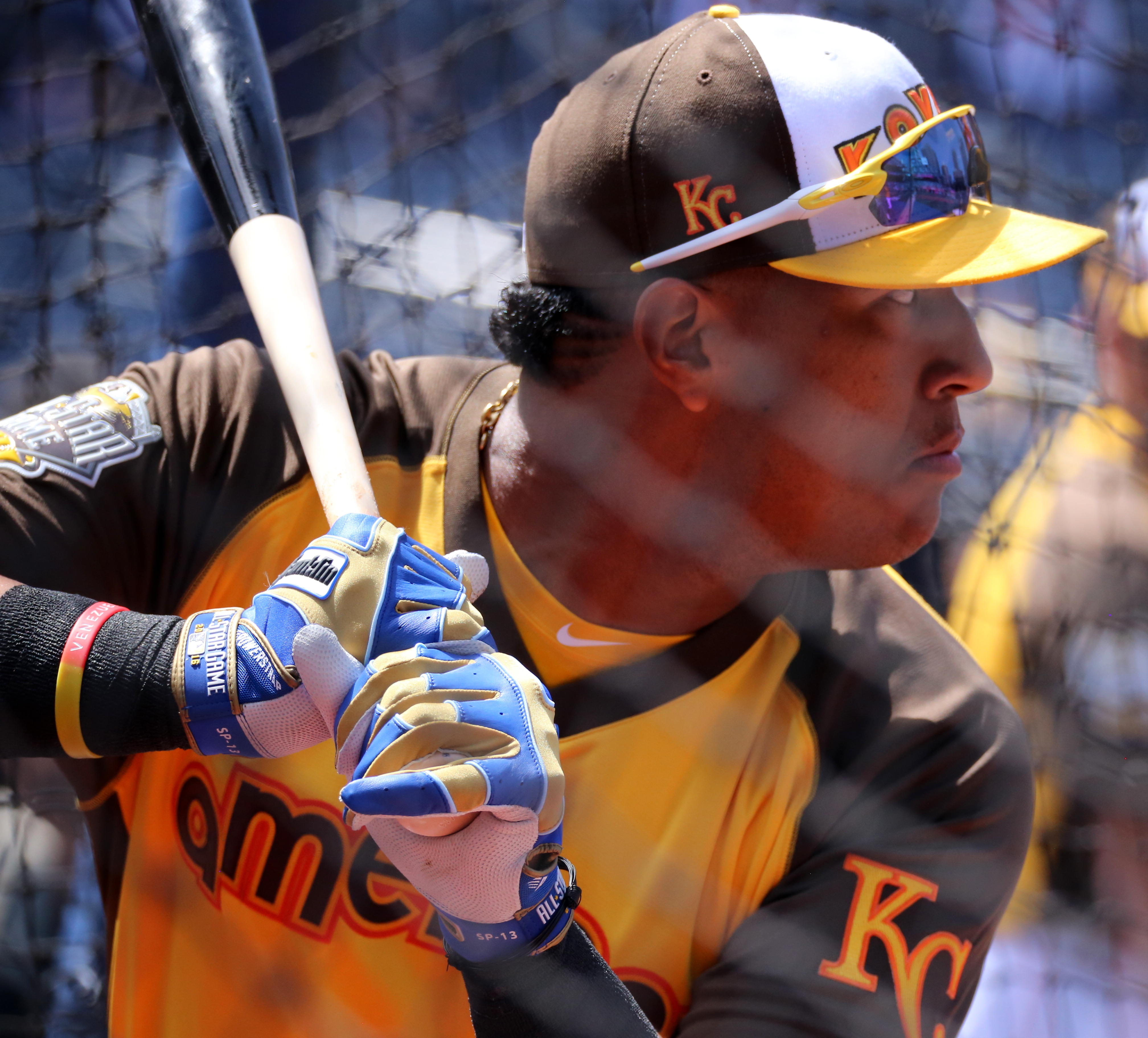 Perez Royals Batting