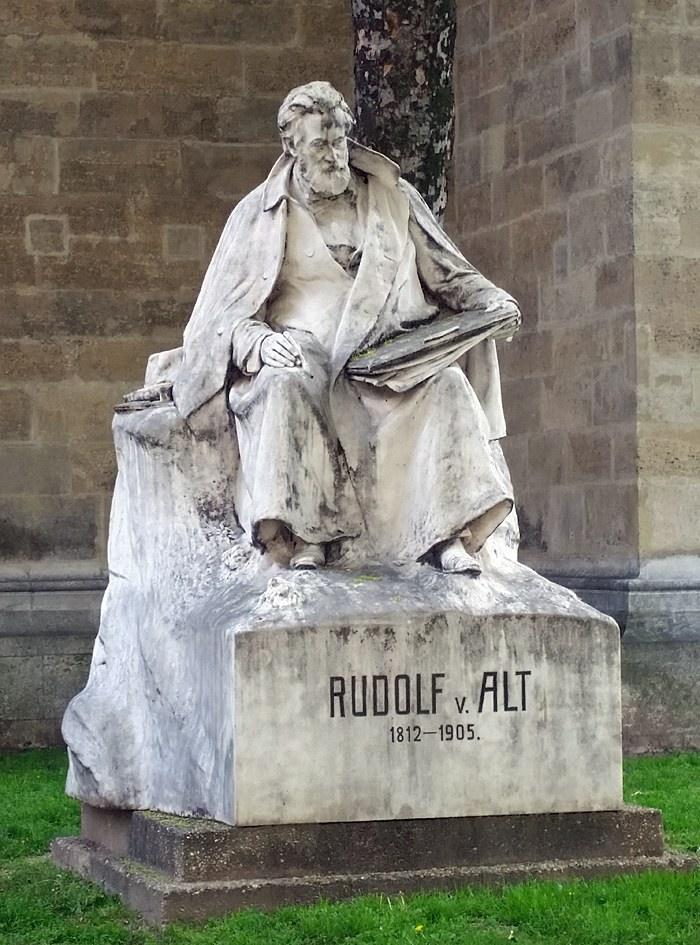 Rudolf von Alt, Denkmal in Wien.jpg