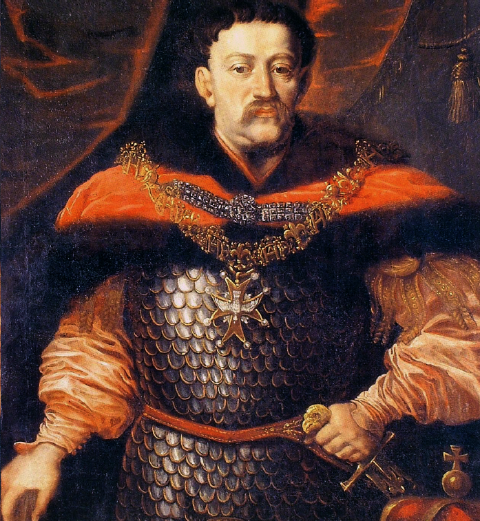 Portrait of John III Sobieski with the Order of the Holy Spirit.