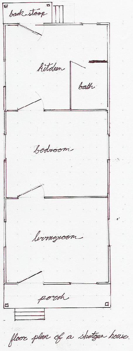 Very Best Shotgun House Floor Plans 454 x 1194 · 59 kB · jpeg