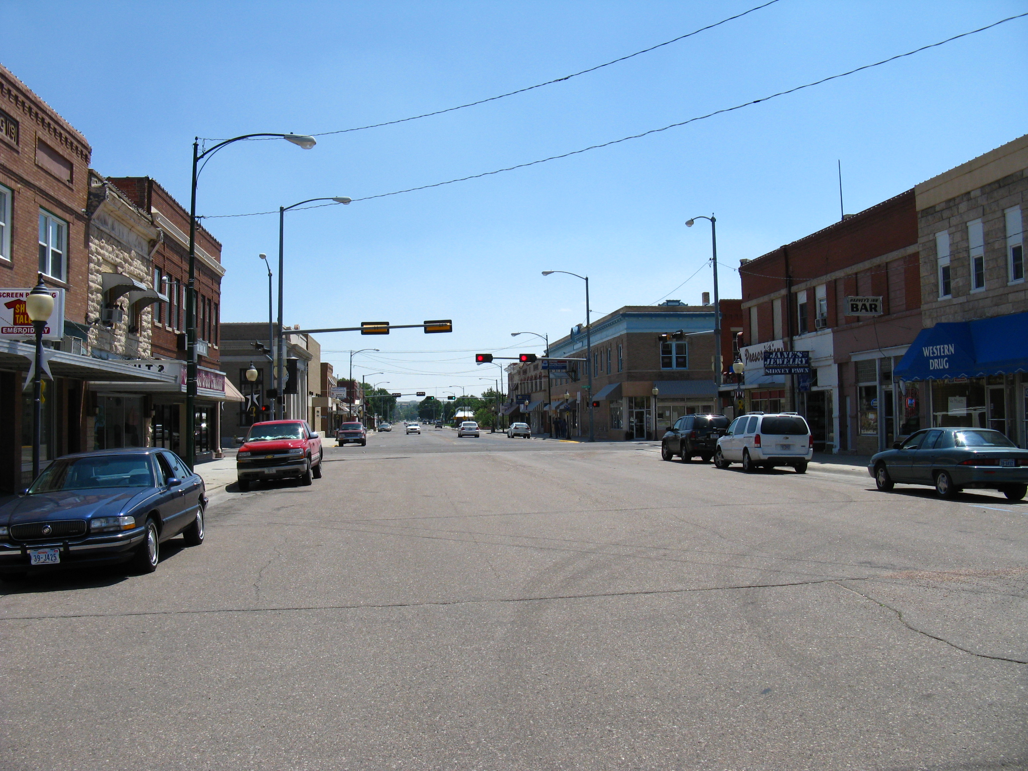 File Sidney Nebraska Downtown Jpg Wikimedia Commons