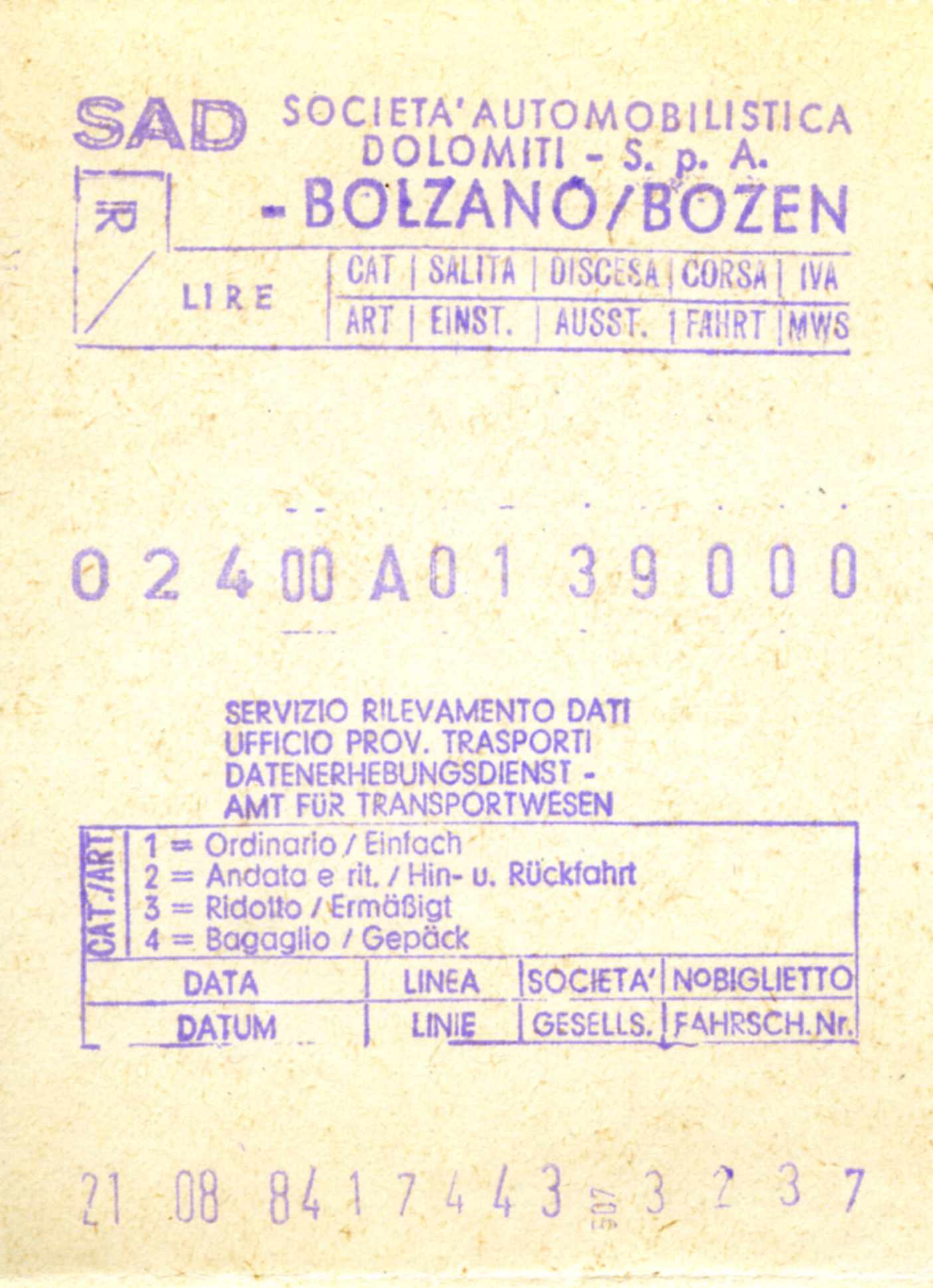 File:South Tyrol SAD bus ticket 3237.jpg - Wikimedia Commons