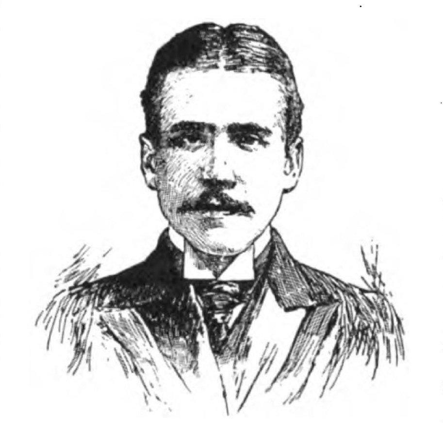 Sketch of Stephen Bonsal 1898