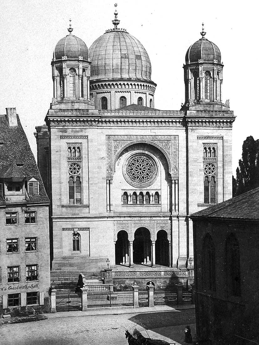 Grande synagogue de nuremberg 1874 1938 wikip dia for Architecte 3d wiki
